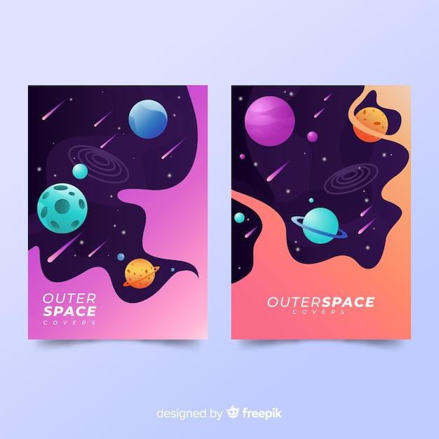 Couvre l'espace Vecteur gratuit