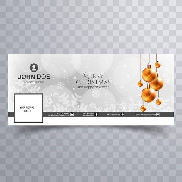 Couvrir De Noël Vecteur gratuit