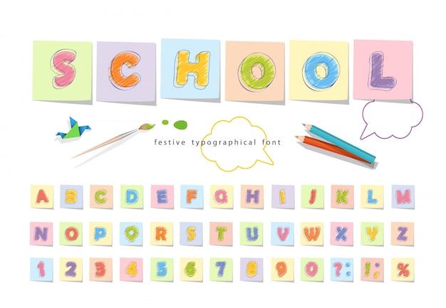 Crayon De Couleur Pour Les Enfants. Vecteur Premium