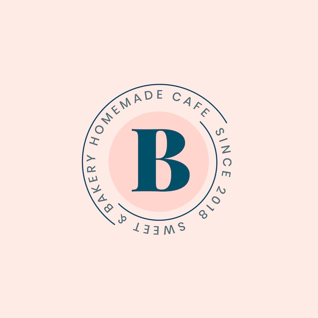 Création De Badge Logo Boulangerie Maison Vecteur gratuit