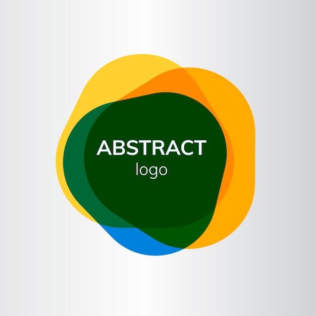 Création De Logo De Badge Abstrait Coloré Vecteur gratuit
