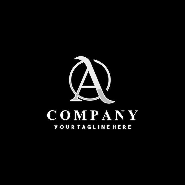 Création De Logo Lettre Initiale Créative A Vecteur Premium