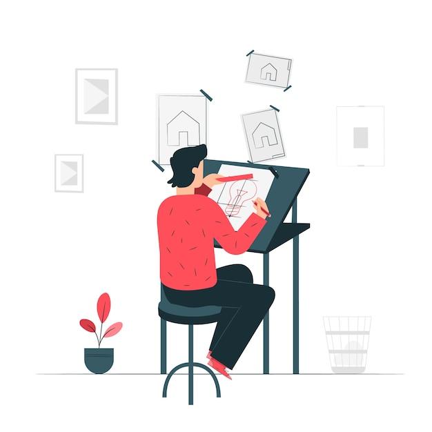 Créer une illustration de concept Vecteur gratuit
