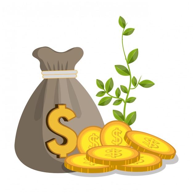 Croissance économique Vecteur gratuit