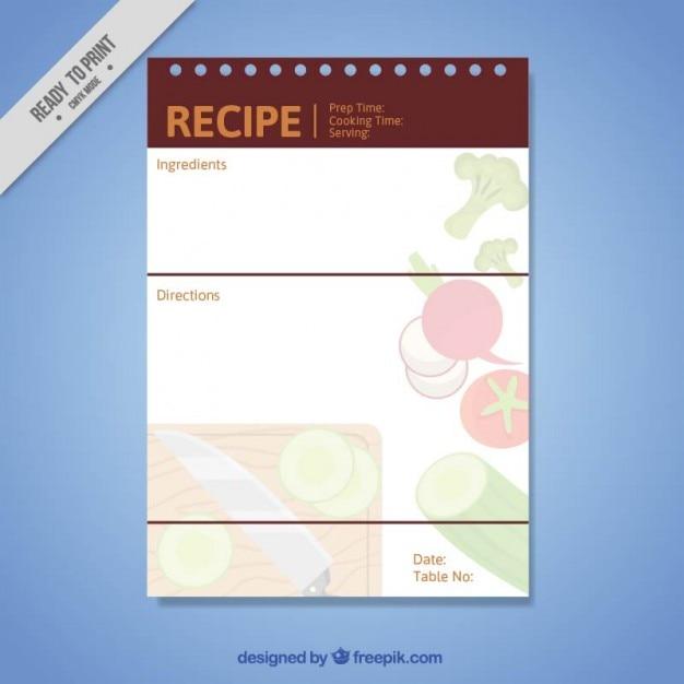 Cuisine simple mod le de recette t l charger des for Modele cuisine simple