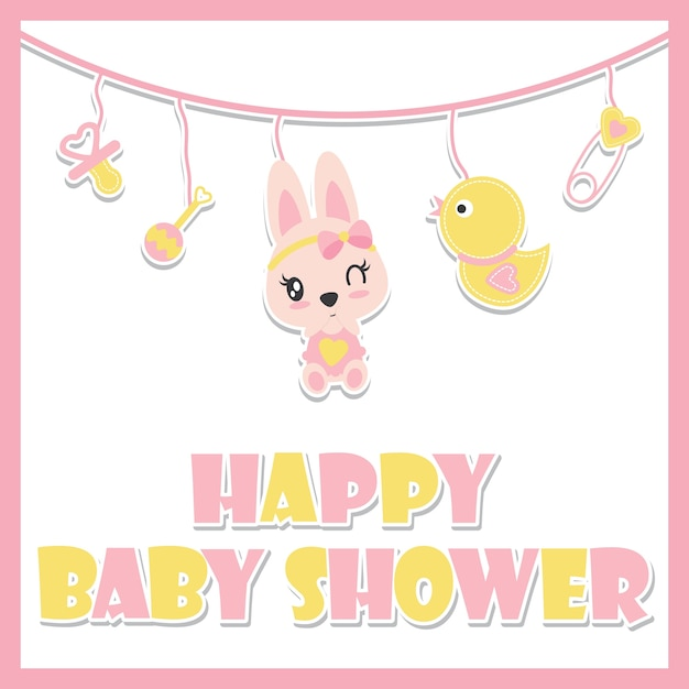 Cute Baby Kitten Est Une Jolie Illustration Vectorielle De