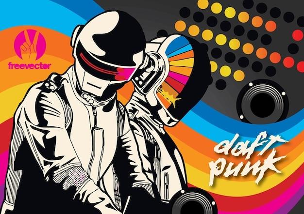 Daft Punk T 233 L 233 Charger Des Vecteurs Gratuitement