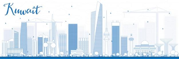 Décrire Les Toits De La Ville De Koweït Avec Des Bâtiments ...