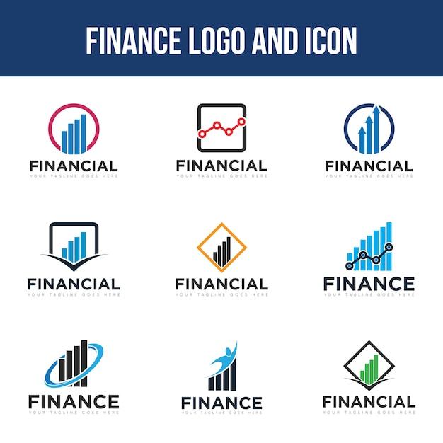 Définir Le Logo Finance Vecteur Premium