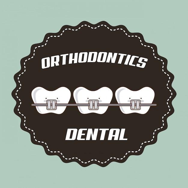 Dentaire Vecteur gratuit