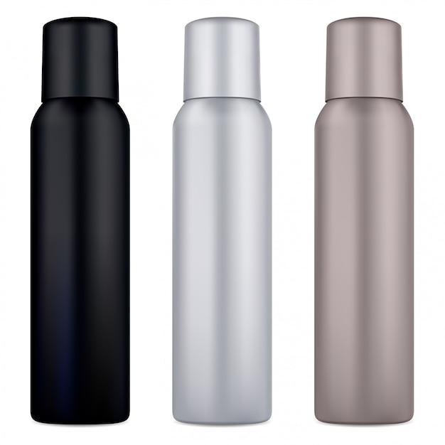 Déodorant En Aérosol. Cosmétique Vecteur Premium