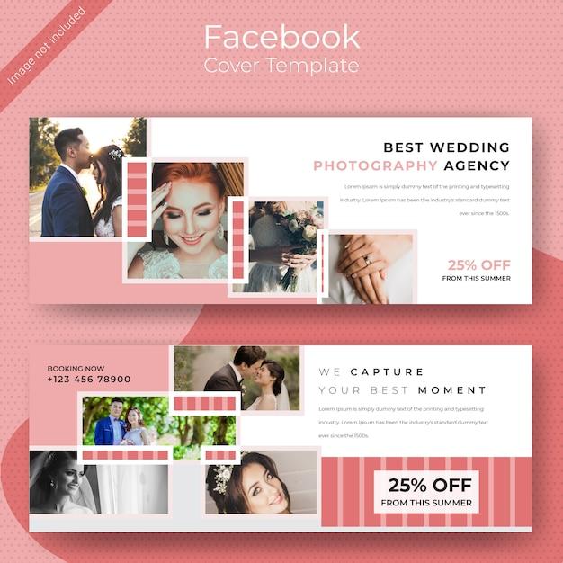 Désherber le modèle de couverture facebook Vecteur Premium