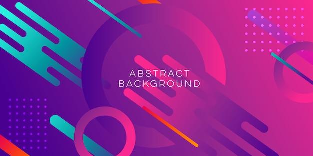 Design abstrait violet Vecteur Premium