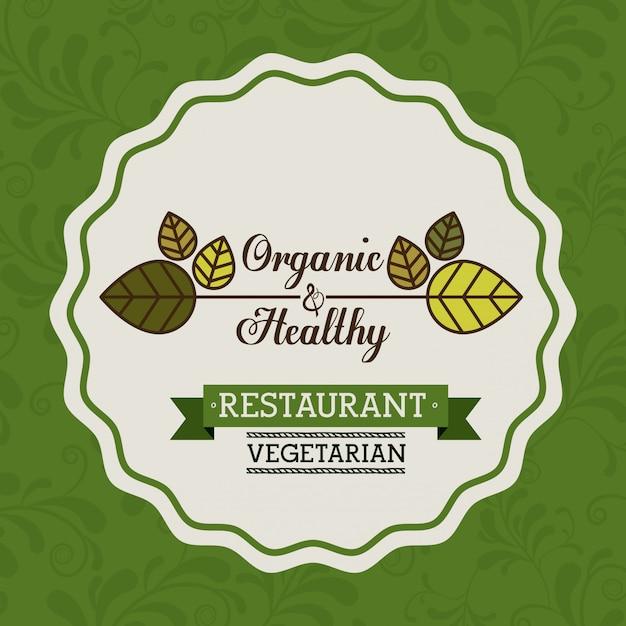 Design alimentaire, illustration vectorielle Vecteur Premium