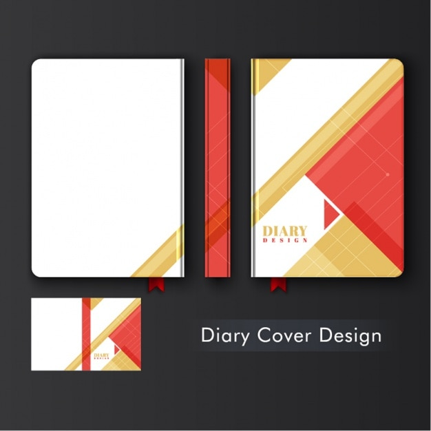 design diary avec des formes g om triques t l charger des vecteurs premium. Black Bedroom Furniture Sets. Home Design Ideas