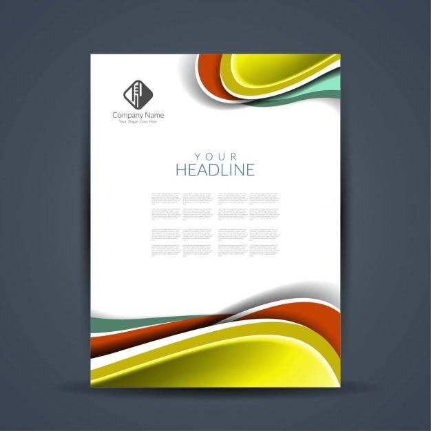 Exceptionnel Design élégant flyer d'affaires | Télécharger des Vecteurs  IA53