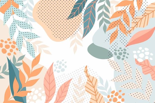 Design Floral Abstrait Floral Vecteur gratuit