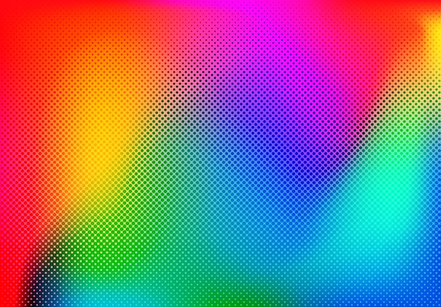 Design De Fond Coloré Vecteur Premium