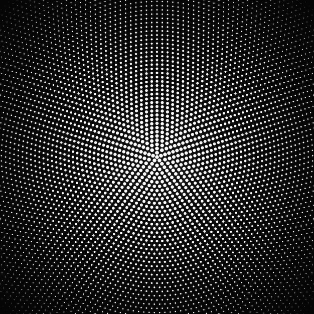 Design de fond géométrique abstrait circulaire Vecteur Premium