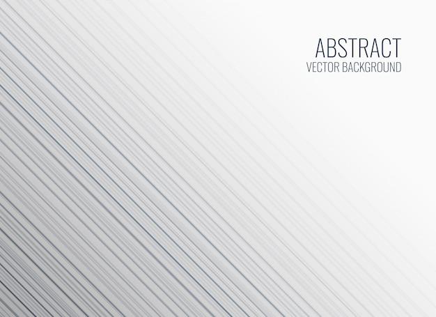 Design de fond des lignes blanches Vecteur gratuit