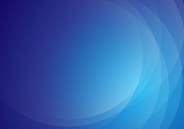 Design de fond moderne vague bleue abstraite Vecteur Premium