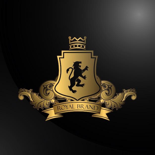 Design de fond royal Vecteur gratuit