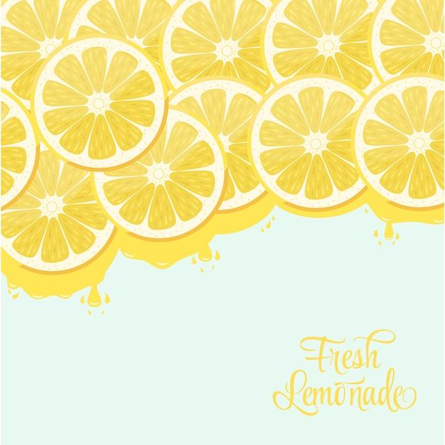 Design de la limonade Vecteur gratuit