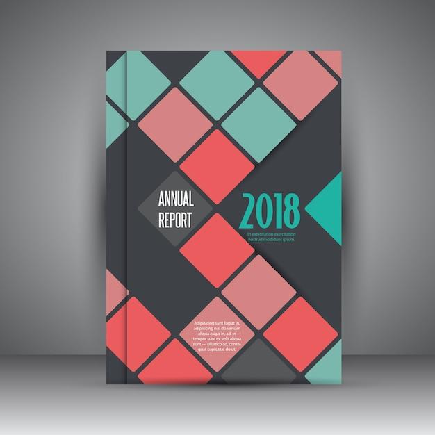 Design Moderne Pour Un Rapport D Activité Annuel