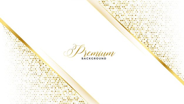 Design Royal De Fond De Paillettes D'or Premium Vecteur gratuit