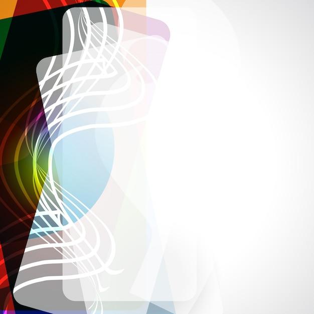 Design vectoriel élégant eps 10 background Vecteur gratuit