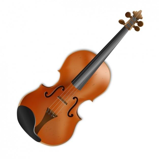 Design violon Vecteur gratuit