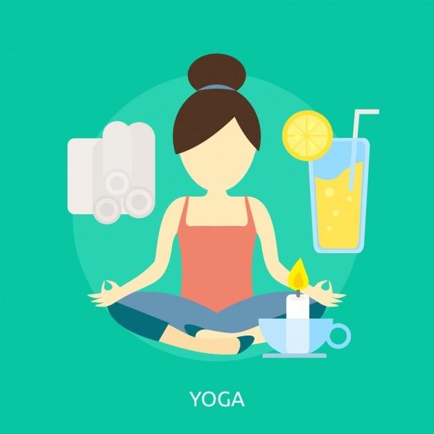 design yoga de fond t l charger des vecteurs gratuitement. Black Bedroom Furniture Sets. Home Design Ideas