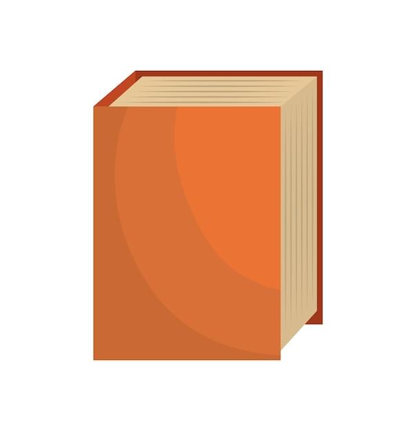 Dessin Anime Gros Livre Lecture Design Isole Telecharger