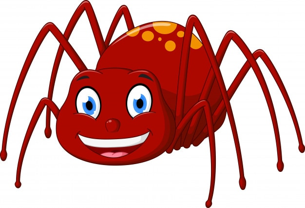 Dessin anim mignon araign e t l charger des vecteurs premium - Araignee dessin ...