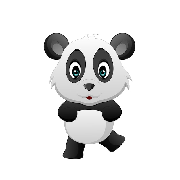 Dessin Animé Mignon De Bébé Panda Télécharger Des Vecteurs