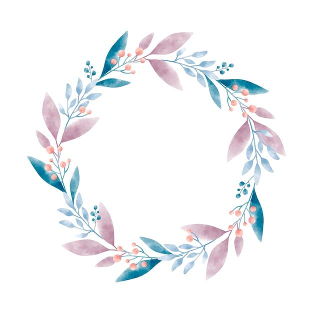 Dessin graphique vectoriel aquarelle couronne Vecteur gratuit