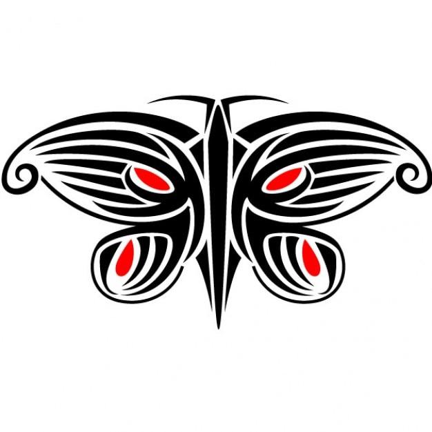 Dessin minimaliste d 39 un papillon avec illusion d 39 optique - Efectos opticos de miedo ...
