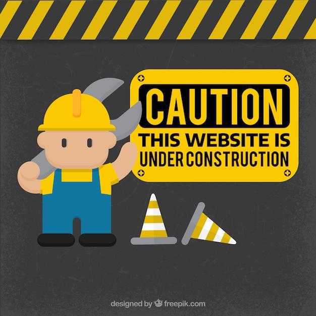 Dessinés à La Main Sous Le Modèle De Construction Vecteur gratuit