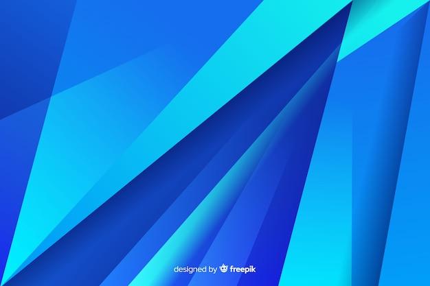 Diagonales abstraites formes bleues traversant Vecteur gratuit