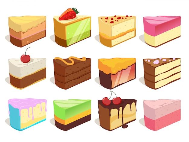 Différentes illustrations de glaces. modèle sans couture de vecteur. fond de glace au chocolat et gaufres Vecteur Premium