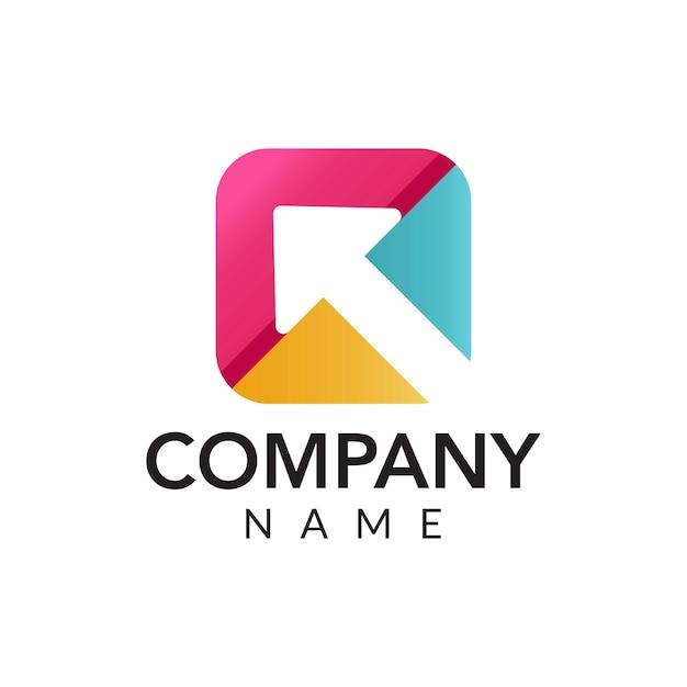 Digital marketing vector logo icône illustration ...