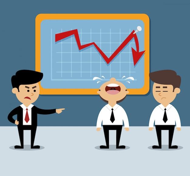 Diminution graphique Vecteur Premium