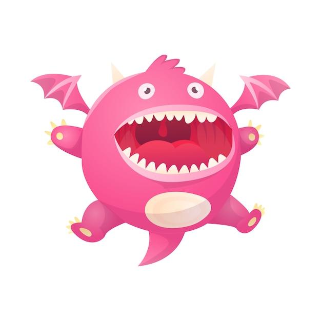 Dragon cartoon vector mignon libellule dino personnage bébé dinosaure pour enfants illustration de conte de fées dino isolé Vecteur Premium