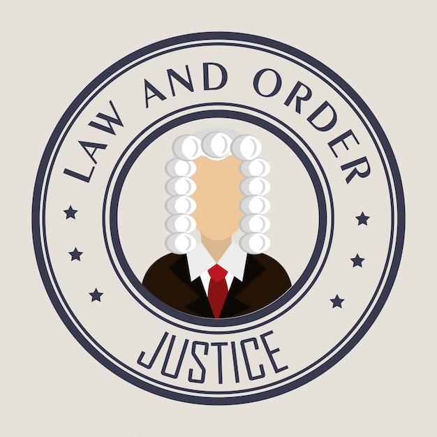 Droit Et Justice Juridique Graphique Vecteur gratuit