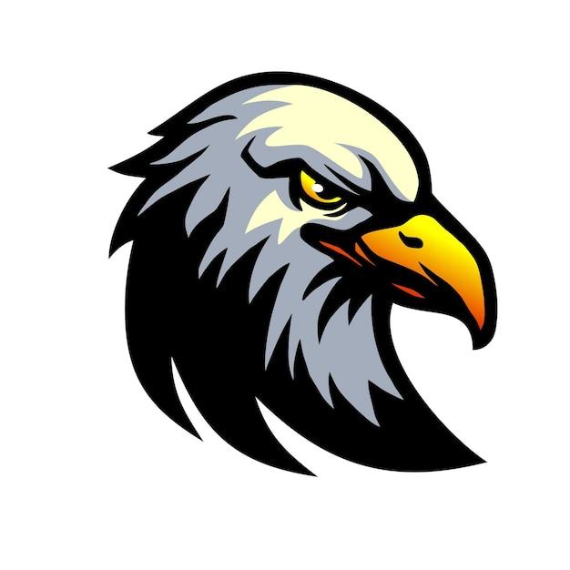 Eagle Head Vecteur Premium