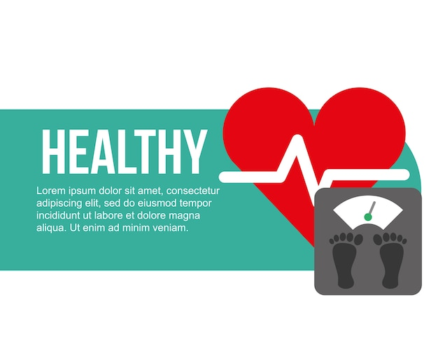 échelle de fréquence cardiaque
