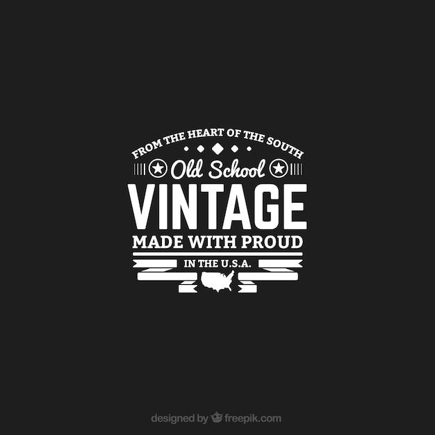 logo gratuit vintage