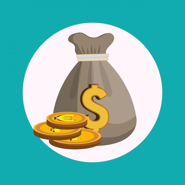 Économie mondiale Vecteur gratuit