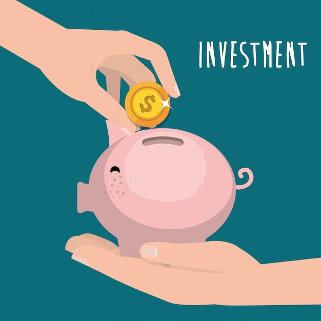Économies Et Investissements Vecteur gratuit