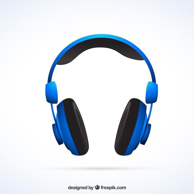 Écouteurs Vecteur gratuit